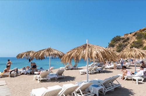 Restaurant met kinderen op Ibiza