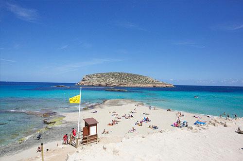 Cala conta Ibiza's mooiste stranden