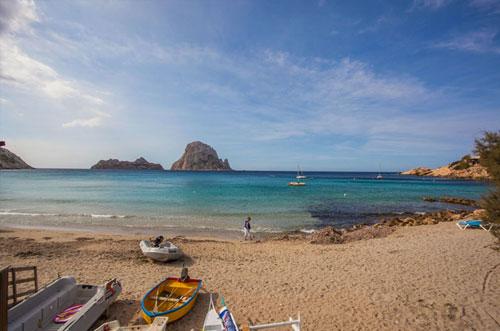 Mooi strand Ibiza Cala d'Hort