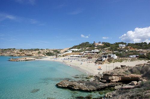 Mooiste strand Ibiza Cala Tarida