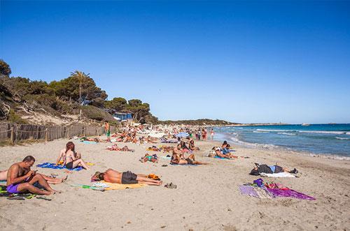 Mooiste stranden Ibiza las Salinas